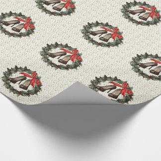 Papier Cadeau Guirlande stylet de chaussures de léopard