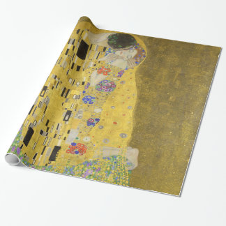 Papier Cadeau Gustav Klimt le baiser