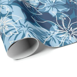 Papier Cadeau Hawaïen Camo de ketmie d'Olowalu