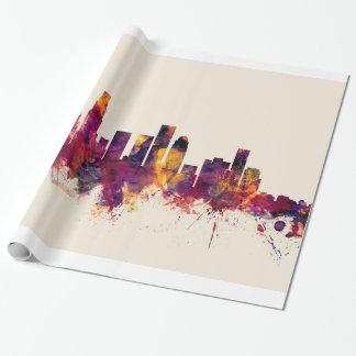 Papier Cadeau Horizon de Los Angeles la Californie