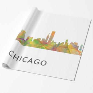 PAPIER CADEAU HORIZON WB1 DE CHICAGO, L'ILLINOIS -