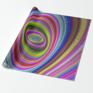 Papier Cadeau Hypnose colorée