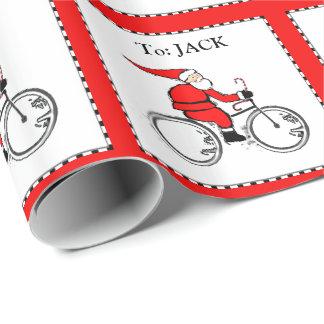 Papier Cadeau idées de cadeau de cycliste