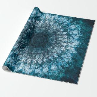 Papier Cadeau Indigo Blue Mandala