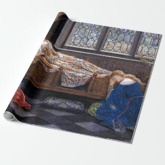 Papier Cadeau John Collier la beauté de sommeil