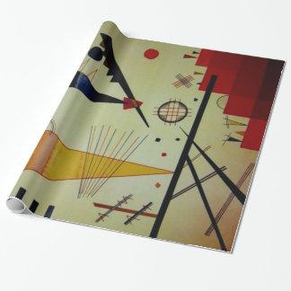 Papier Cadeau Joyeuse illustration d'abrégé sur structure de