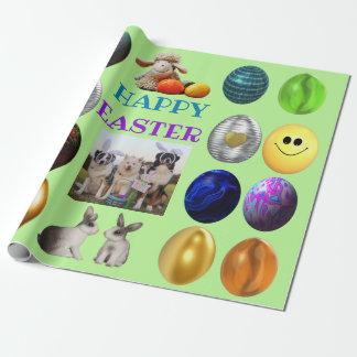 Papier Cadeau Joyeuses Pâques