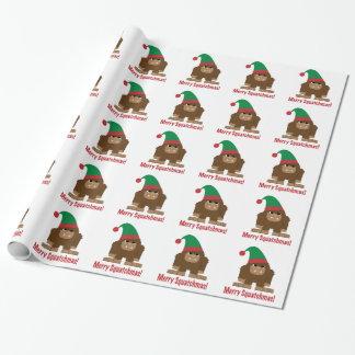 Papier Cadeau Joyeux Squatchmas !