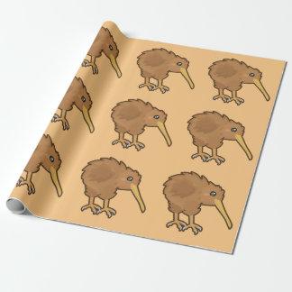 Papier Cadeau Kiwi de Kawaii