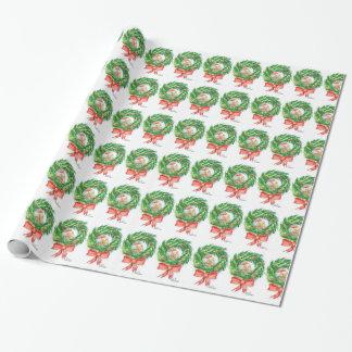 Papier Cadeau Kiwi unique et guirlande de papier d'emballage de