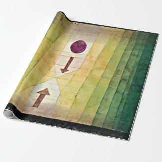 Papier Cadeau Klee - avant l'attaque éclaire