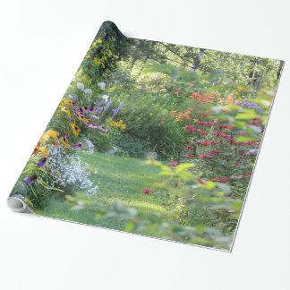 Papier Cadeau Là où trois jardins se réunissent