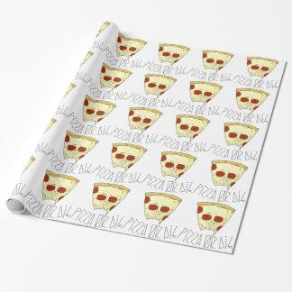 Papier Cadeau La pizza ou meurent