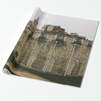 Papier Cadeau La tour, Londres, photographie historique de