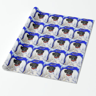 Papier Cadeau Labrador retriever noir