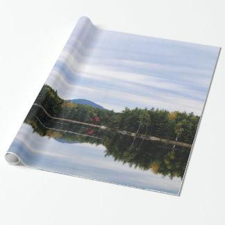 Papier Cadeau Lac Millinocket de montagne de Kellogg