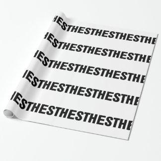 Papier Cadeau Lame de Mac d'anesthésie