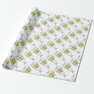 Papier Cadeau Lapin blanc