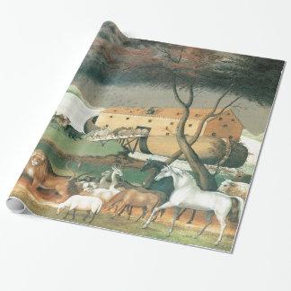 Papier Cadeau L'arche de Noé