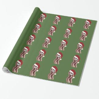 Papier Cadeau Lard de Père Noël