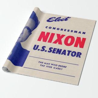 Papier Cadeau Le cru élisent le sénateur de Nixon de membre du