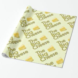 Papier Cadeau Le grand fromage