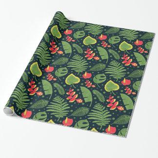 Papier Cadeau Le jardin tropical