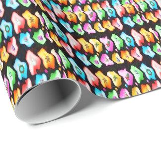 Papier Cadeau Le papier d'emballage brillant s'assurent chaque