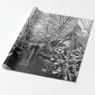 Papier Cadeau Le pays des merveilles d'hiver de NYC