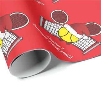 Papier Cadeau Le tennis est complètement SENSATIONNEL