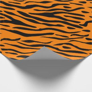 Papier Cadeau Le tigre a barré le papier d'emballage - cadeaux