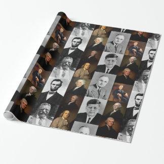 Papier Cadeau Les Présidents Plus Hamilton des USA et histoire