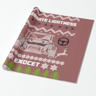 Papier Cadeau L'exocet célèbrent le papier d'emballage de