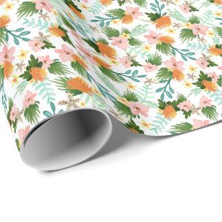 Papier Cadeau Littoral floral