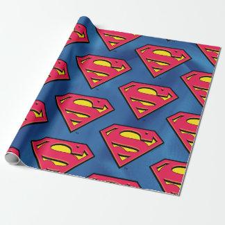 Papier Cadeau Logo classique des bandes dessinées | Superman |