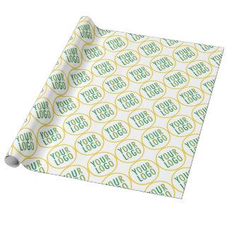 Papier Cadeau Logo fait sur commande de toile de papier