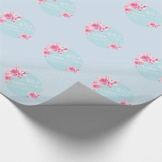 Papier Cadeau Lotus