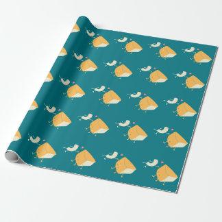Papier Cadeau Mac et fromage pour toujours !
