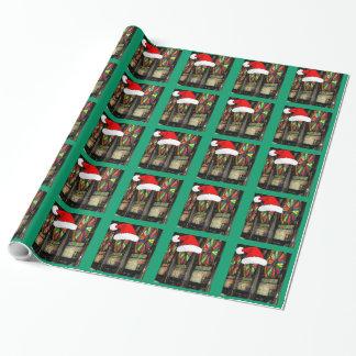 Papier Cadeau Machines à sous de Noël