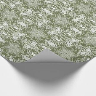 Papier Cadeau Mandala de mousse