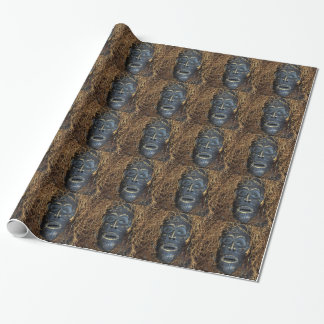 Papier Cadeau Masque africain