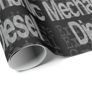 Papier Cadeau Mécanicien diesel Extraordinaire