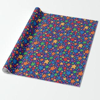 Papier Cadeau Meeple enveloppant Papper
