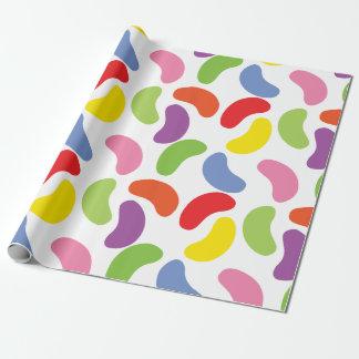 Papier Cadeau Mignon coloré de motif de dragées à la gelée de