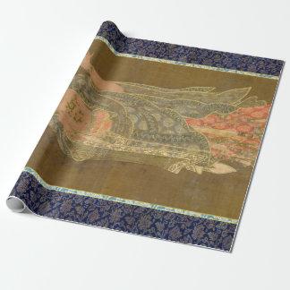 Papier Cadeau Moine bouddhiste Kshitigarbha de Bhikkhu de