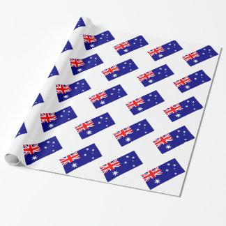 Papier Cadeau Motif australien Union Jack de drapeau