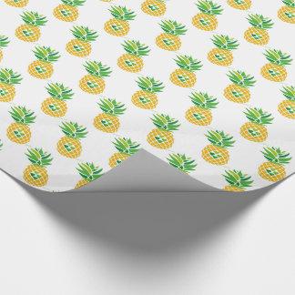 Papier Cadeau Motif d'ananas