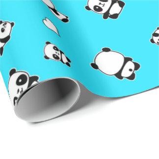 Papier Cadeau Motif de panda