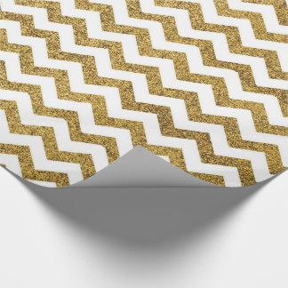 Papier Cadeau Motif d'or