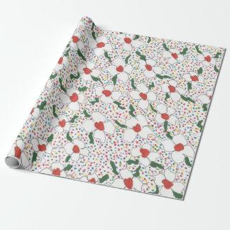 Papier Cadeau Motif floral classique